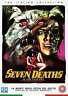 Seven Deaths In The Cats Eye (UK IMPORT) DVD NEW