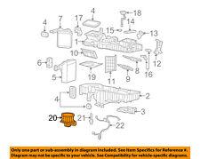 GM OEM-Blower Motor 89019178