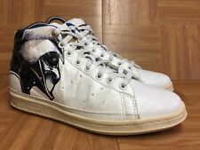 RARE🔥 Adidas Star Wars Darth Vader Stan Smith 80's Mid Sz 9 White Leather G4619