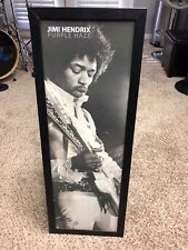 Authentic Picture of Jimi Hendrix  playing a Fender Stratocaster guitar USA