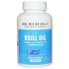 DR. MERCOLA  ANTARTIC KRILL OIL GLUTEN FREE OMEGA-3 CAPS-180 X Capsules