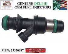 2000-01-02-03 GMC Sonoma 2.2L I4 Brand New 1x Fuel Injector OEM Delphi #25320687