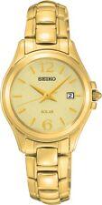 Seiko SUT236 SUT236P1 Ladies Solar Watch Gold NEW RRP $495.00