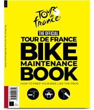 OFFICIAL TOUR DE FRANCE BIKE MAINTENANCE BOOK, sports racing cycling bicycle