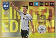 Mesut Özil Limited Edition Panini Adrenalyn XL Fifa 365 2017 Deutschland