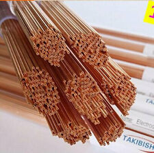 100pcs Ø0.3X300mm Wire Edm Drill Electrodes Single Hole Top Quality Copper Tube