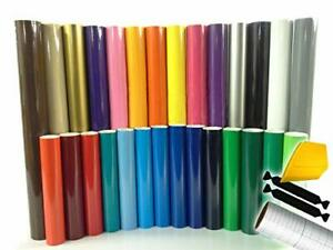 ORACAL 651 Multi-Color Vinyl Starter Kit Bundle 10 rollstoolkit &  trnsfr ppr