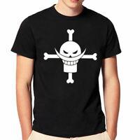 Unisex Fashion Black/White T-shirt Anime One Piece TShirt Short Sleeve Tee Shirt