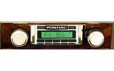 1968 Pontiac Firebird Radio w/ Burlwood Bezel, USA-630 Custom Autosound