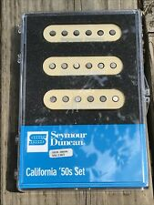 Seymour Duncan SSL-1 California 50's Single Coil Set Stratocaster CREAM COVERS