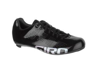Giro Empire W ACC Women's Carbon Road Shoes Gloss Black 6.5 38 Easton NWOB $300