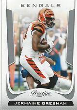 Jermaine Gresham 2011 Panini Prestige NFL Trading Card #43 Cincinnati Bengals