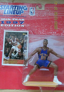 Allan Houston 1997 Edition Starting Lineup Action Figure Kenner