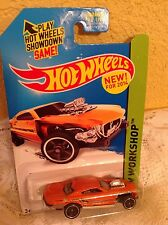 HOT WHEELS CAR 2014 PROJECT SPEEDER HW WORKSHOP HW GARAGE