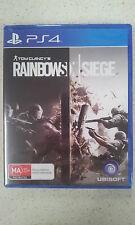 tom clancy's rainbow six siege ps4 new