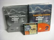 3 pc. APOLOGIA EXPLORING CREATION W/ PHYSICAL SCIENCE- 2ND ED. TEXTBK,SOL.,AUDIO