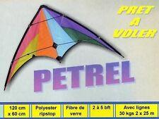 Cerf volant dirigeable Petrel 120 x 60 cm prêt à voler, achat/vente NEUF
