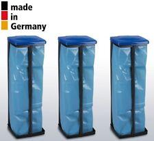 Müllsackständer mit Deckel bis 120L Gelber Sack Höhe 47-87cm Müll-Abfall-Sammler