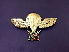 Senegal moniteur PJI freefall airborne special commando para wing badge halo rar
