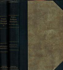 Seitz, libro di testo pastorale-teologia 1) prete 2) Burgh-ufficio, Paderborn 1920