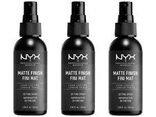 NYX MATTE FINISH LONG LASTING SETTING SPRAY 2.03oz  3pcs Best choice
