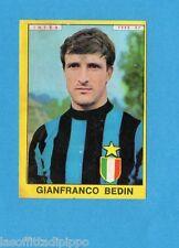 PANINI CALCIATORI 1966/67-Figurina - BEDIN - INTER -Recuperata