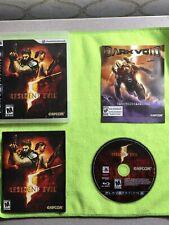 Resident Evil 5 PlayStation 3 Ps3 Game Complete V *Tested & Mint*