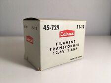 Calrad Transformer 45-729 12 Volt Shielded Filament Transformer Radio Supply