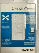 lutron Caseta Wireless Smart Fan Speed Control, Single-Pole, White