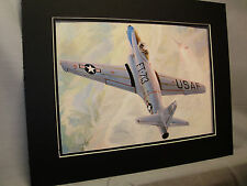 F 80 Shooting Star Jet Lockheed artist Aviation Archives Ebay Largest selection
