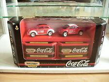 Matchbox Collectibles VW Volkswagen Beetle Old/New Coca Cola in box