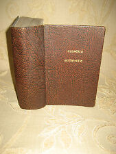 Antique Collectable Book Of Cusack's Arithmetic Theoretical And Practical - 1896