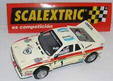 SCALEXTRIC SPAIN PLANETA RALLY MITICOS ESPAÑA LANCIA 037 SERVIA-SABATER  MINT