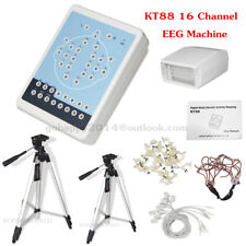 16-Channel Digital Brain Electric EEG Machine Mapping System+Software &Tripods
