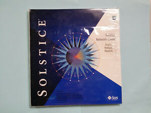 SUN Solstice Network Client Global 1 New In Unopened Package, Version 3.2