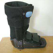 Inflatable Pump Equalizer Walker Boot Leg Foot Brace Small Black w/ Soft Liner