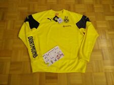 NWT Borussia Dortmund BVB 09 Football Soccer Puma Training Sweat Shirt Men XL