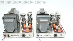 Dynaco Dynakit MKIII Vacuum Tube Amplifiers - Rebuilt - Upgraded Power Supplies
