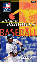 Fox Ultimate Summer of Baseball Viewers Guide 1997 BOSE