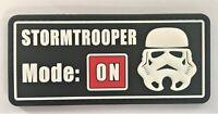 Star Wars Sith Storm Trooper PVC Patch Hook & Loop (SWAT PMO Resident Evil) 312