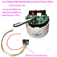 10S Low Voltage High Speed Brushless Vacuum Cleaner Motor DC 36V Digital Motor