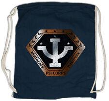 VINTAGE PSI CORPS LOGO Drawstring Bag Space Center Babylon 5