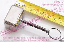 """1/6 Scale Hot Toys MMS224 Thor: The Dark World - Thor - Thor hammer """"Mjölnir"""""""