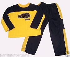 Kid Connection Boys Fire Engine Rescue Outfit Size 5T
