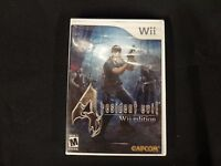 Resident Evil 4 -- Wii Edition (Nintendo Wii, 2007) Brand New Factory Sealed