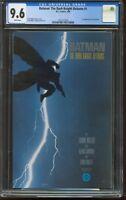 Batman The Dark Knight Returns 1 CGC-GRADED 9.6 NM+ WHITE PAGES DC 350 1ST PRINT