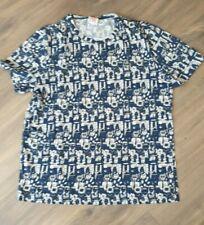 Lacoste Live men t-shirt M blue - (size 5) RARE