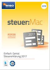 Download-Version WISO steuer:Mac 2018 für die Steuererklärung 2017