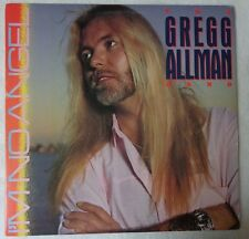THE GREGG ALLMAN BAND 1987 LP I'M NO ANGEL EPIC MASTERDISK VG+ LYRIC INNER SLEEV