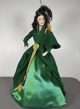 Gone With The Wind Scarlett O'Hara Green Drapery Dress Franklin Heritage 21�